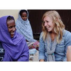 We love this throwback to our #blogABLE trip, featuring 2 of our favorite gals: Mulu + @Ellie Holcomb