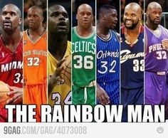 Shaquille O´Neal Rainbow Man