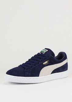 Suede Classic - Baskets Mode - Mixte Adulte - Bleu (Peacoat-Peacoat-White 52) - 41 EUPuma vQ9p9H6