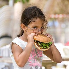 girl vs. burger