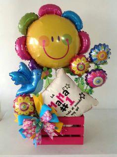 Uh Balloon Box, Balloon Gift, Balloon Flowers, Balloon Bouquet, Xmas Gifts, Valentine Day Gifts, Diy Gifts, Valentines, Baby Shower Balloons