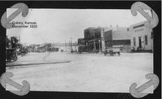 Colony, Kansas 1920