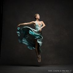 NYC Dance Project, Keenan Kampa  Dress by Liz White Couture  Ballet Beautiful | ZsaZsa Bellagio - Like No Other