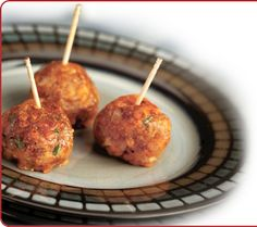 Maple Sausage and Apple Balls