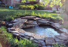57 DIY Garden Pond Waterfall for Your Back Yard