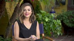 Talking beauty, country music and Pretty Little Liars with Lucy Hale on the set of her mark shoot in our first Beauty Story video.