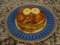Panquecas de Banana (Banana Pancakes)
