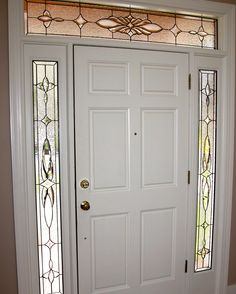 Cocchiola design.  #transom #home decor #artsy #beautiful #custom-made #creative #elegant #window #stained glass