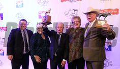 2014 Horse of the Year trainers Alan and Art Sherman and owners Mr/Mrs/ Steve Coburn. 2014 Eclipse Awards photosbyz.com