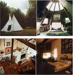 dare me to live in a teepee