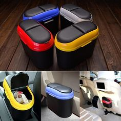 Ford Gt, Trash Can For Car, Car Trash Cans, Car Interior Decor, Interior Design, Car Essentials, Piece Auto, Car Accessories For Girls, Vehicle Accessories