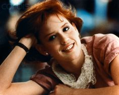 Molly Ringwald. Queen of the Brat Pack.