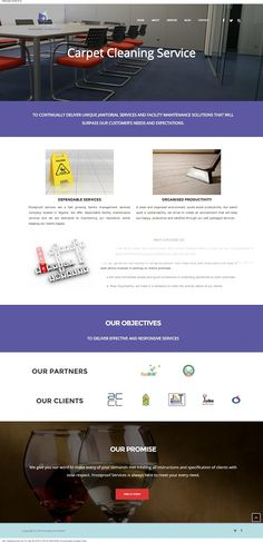 Affordable Website Design of Frostproof Service, Facility Management, Cleaning and Fumigation Company in Nigeria  ‪#website‬ ‪#Nigeria‬ #design