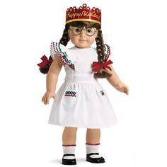 Molly Party Pinafore and birthday Crown
