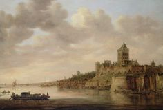 Aelbert Cuyp (1620 - 1691) - The Valkhof at Nijmegen (1650)