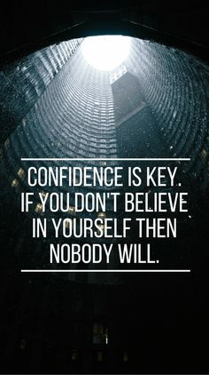 Confidence Quotes And Sayings – Inspirational Quotes Quotes To Live By, Me Quotes, Motivational Quotes, Inspirational Quotes, School Motivation, Study Motivation, Confidence Quotes, Self Confidence, Softball Quotes