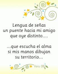 Haiku a la lengua de señas Deaf Culture, American Sign Language, Teaching Spanish, Learn English, Lily, Thoughts, Signs, Learning, Haiku