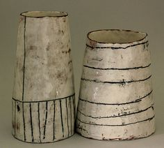 Ceramics by Maria Kristofersson at Cave Interiors More