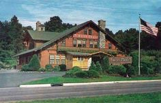 New Jersey NJ postcard Ramsey, Swiss Chalet Restaurant Jersey Girl, New Jersey, Jimmy Reed, North Arlington, Swiss Chalet, Moving To Florida, Vintage Restaurant, Bergen County, Little Falls