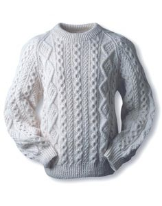 Kelly Aran Sweater-I want to make this for my dad!