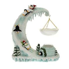Yankee Candle Penguin Party Novelty Tart Burner... so cute!