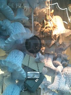 Selfridges Burberry kids fashion window