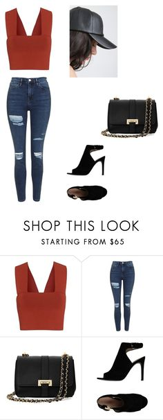 """""""Untitled #138"""" by sarahavamarie ❤ liked on Polyvore featuring A.L.C., Topshop, Aspinal of London and Tory Burch"""