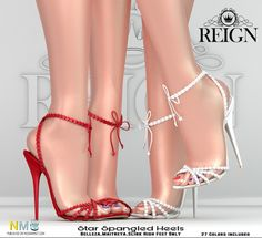 Star Spangled Heels VIP Group Gift Star Spangled Heels, thank you gift from Reign for all VIP group members. 27 colors for Belleza, Maitreya and [...]
