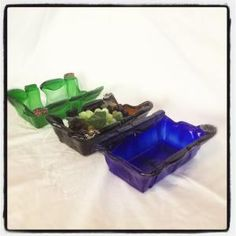 Beer Bottle Quad Bowl $75.00 Buy and Sell Crafts On Line | Handmade Crafts to Sell? Free Posting