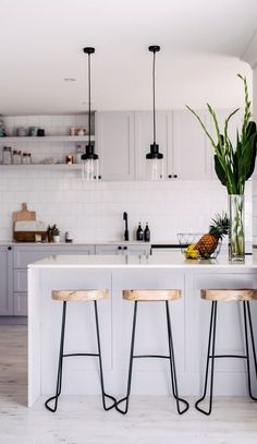 scandinavian kitchen decor idea