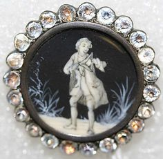 Button  Date:     ca. 1770 Culture:     British Medium:     enamel, ivory Dimensions:     [no dimension available] Credit Line:     From the Hanna S. Kohn Collection, 1951