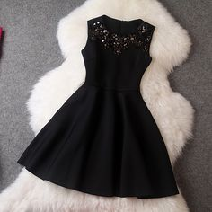 Squins A-line Skater Pleat Short Vest Prom Dress