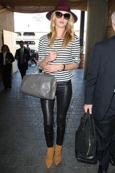 Celebstyle: Rosie Huntington-Whiteley basic en vrouwelijk - http://www.fashionscene.nl/p/146416/celebstyle:_rosie_huntington-whiteley_basic_en_vrouwelijk