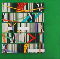 "Saatchi Art Artist Luciano de Liberato; Painting, ""White code, page 8"" #art"