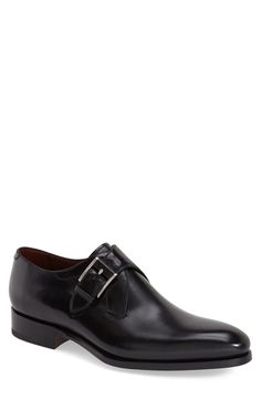 Magnanni 'Lamar' Monk Strap Shoe (Men)