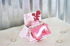 New to RycesPiecesKnits on Etsy: Valentines Lovebird Handmade Popup Card/ Valentine Card/ Special Greeting Card/ Love Card/ PopUp Card/ Romantic Card (10.00 USD)