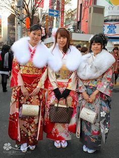2012 成人の日 (Seijin no Hi - Coming of Age Day) - #Tokyo #Japan