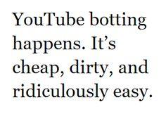 Why won't YouTube delete my 500,000 fake views?