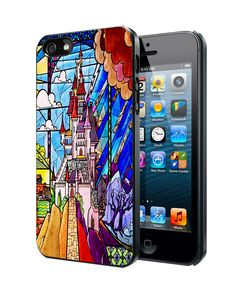 Beauty and The Beast Castle Samsung Galaxy S3 S4 S5 Note 3 , iPhone 4 5 5c 6 Plus , iPod 4 5 case