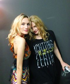 Gali and Inga Humpe :-)
