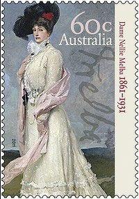2011 Australia-Dame Nelly Melba,  fue una cantante de ópera australiana cuyo nombre real fue Helen Porter Mitchel