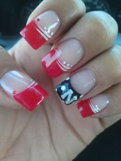 Husker Nails All Day Baby