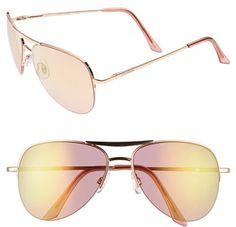 #Steve Madden             #Eyewear                  #Steve #Madden #60mm #Aviator #Sunglasses #Rose #Gold/ #Pink #Size            Steve Madden 60mm Aviator Sunglasses Rose Gold/ Pink One Size                                           http://www.snaproduct.com/product.aspx?PID=4972150