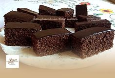 Banana Brownies, Dessert Recipes, Desserts, Cakes And More, Coco, Biscuits, Sweets, Food And Drink, Cookies