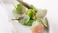 Gemarineerde zeebaars met groene kruiden