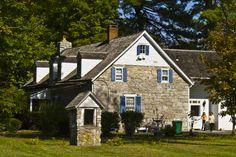 Jacobus Van Wagenen Stone House in Ulster County, New York.
