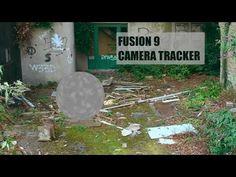 Blackmagic Design Fusion 9 Camera tracker tutorial - YouTube