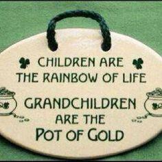 My Grandbabies are!