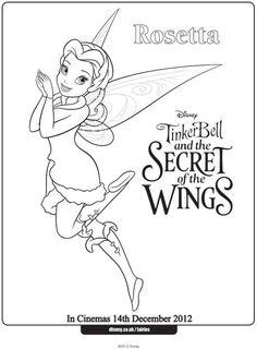 Disney Vidia Coloring Pages