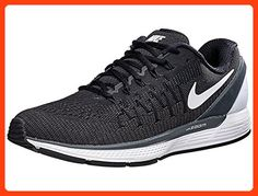 premium selection 6dd36 cfbc4 Nike Mens Air Zoom Odyssey 2 Running Shoe Black Summit White Anthracite 7.5  D(M) US